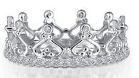 Lafonn Crown Eternity Ring R0229CLP05