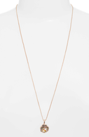 Canon Necklace in Rose Gold Abalone Shell