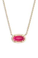 Ember Gold Pendant Necklace in Azalea Illusion