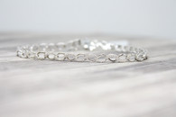 .50cttw Diamond Infinity Bracelet