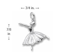 Ballet Dancer Charm