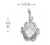 April Birthstone Charm