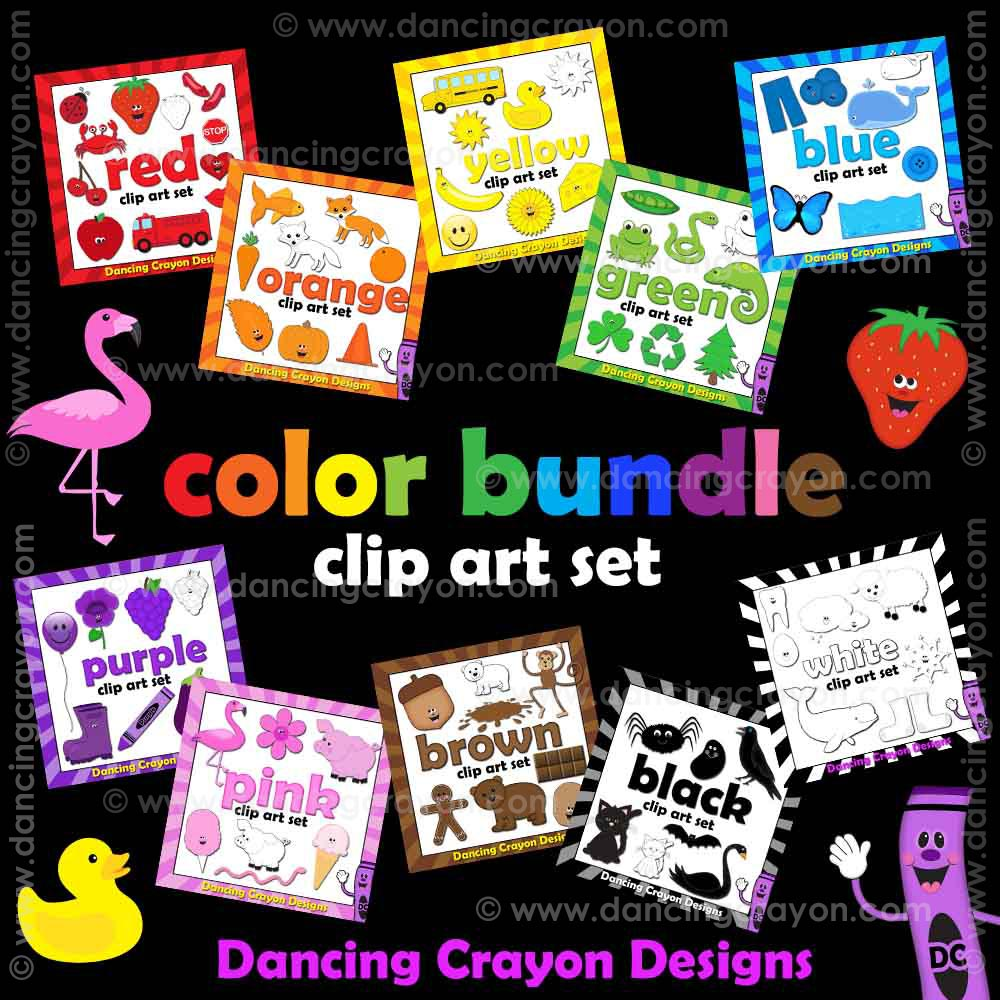 Color clipart bundle