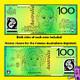 Australian money clipart; Australian bank notes