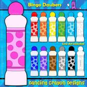 Colorful bingo dauber clipart