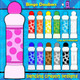 Colorful bingo dauber clipart