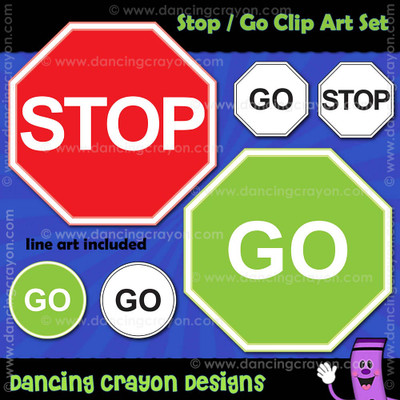Free clipart: stop sign clipart