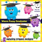 Graduation clipart: Warm Fuzzy Graduates