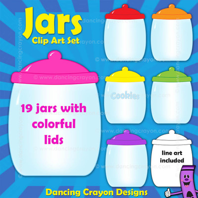 Jars / Cookie Jars Clipart
