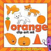 Orange clipart - things that are orange