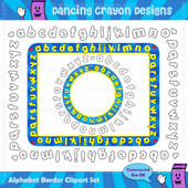 Borders: ABC Alphabet Borders / Frames