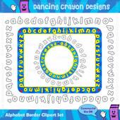 Borders: ABC Alphabet Borders / Frames