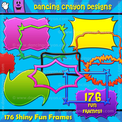 Fun frames - clip art borders