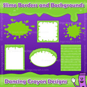Borders: Slime Effect Borders, Frames, and Backgrounds