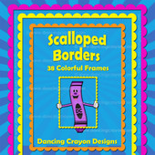 scalloped borders