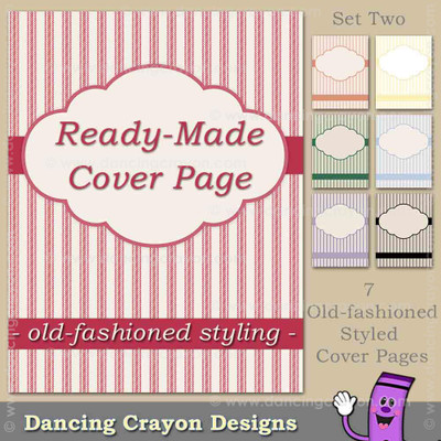 Cover Page: Old-Fashioned Style