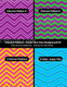 chevron digital paper - photoshop templates