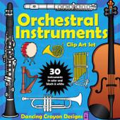 Orchestra Instruments Clip Art