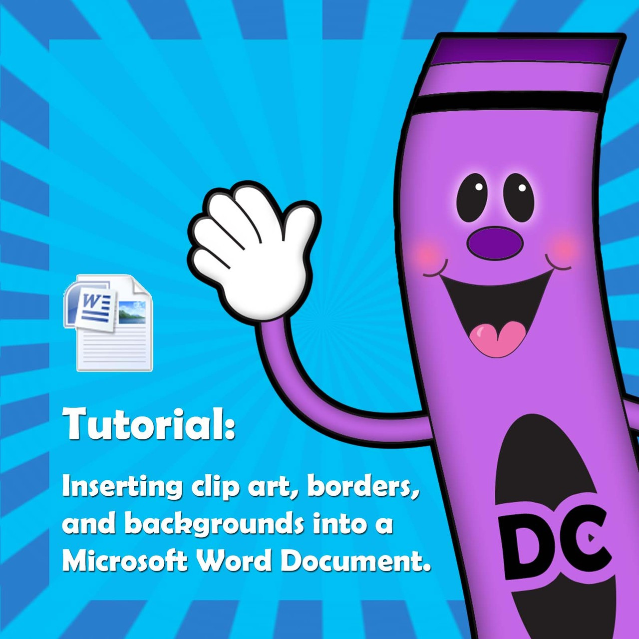 Tutorial: how to insert clip art into a Word document