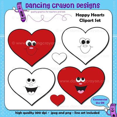 Valentine's Day heart clip art