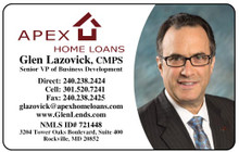 Laminated Color Business Cards -  Supreme Mortgage1