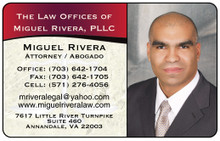 Laminated Color Business Cards -  Supreme Legal1