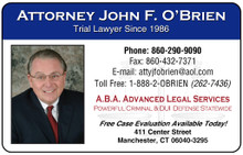 Laminated Color Business Cards - Premier Legal2