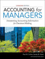 Accounting for Managers Collier Kizan Schumann Canadian Edition solutions manual