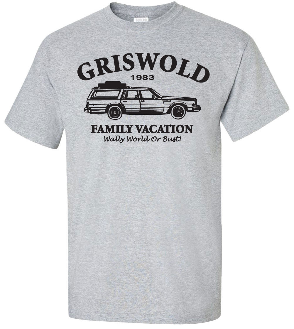 Griswold Family Vacation Wally World Bust T Shirt Merry