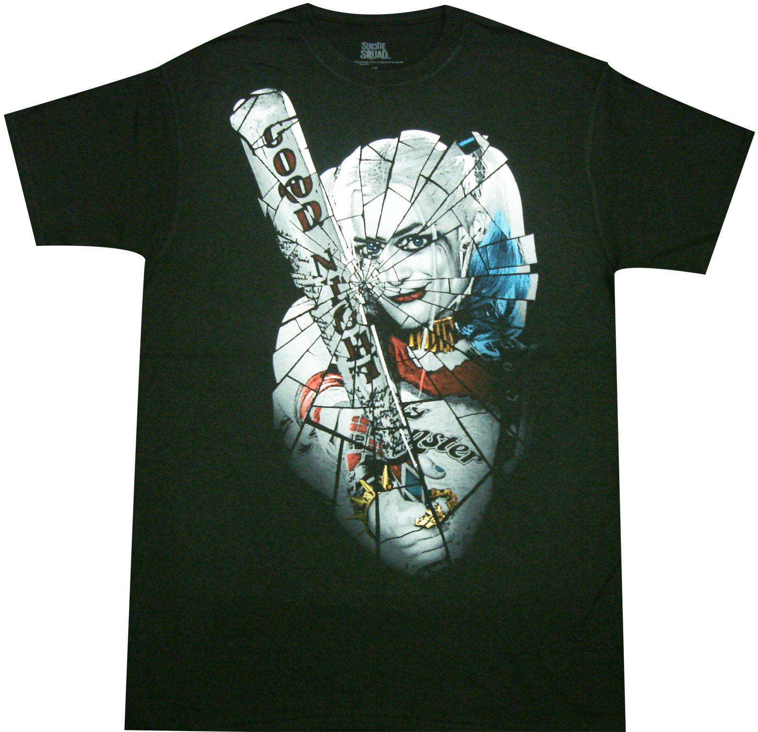 Harley Quinn LAUGH IT UP Licensed Adult T-Shirt All Sizes
