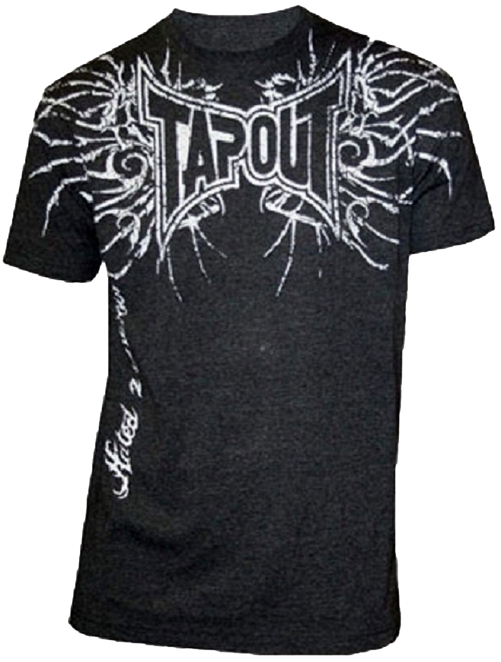 Oct 06, · Actually, I believe this person is curious as to what tapout ment for the logo. The 3 Tapout guys Punkass, Skyscraper, and Mask all stated that the Status: Resolved.