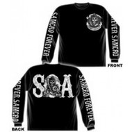 SAMCRO Forever - Sons Of Anarchy Long Sleeve Adult T-shirt
