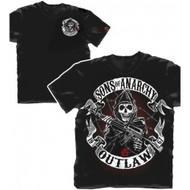 Sons of Anarchy Outlaw Reaper Adult T-Shirt