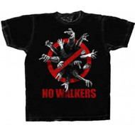 The Walking Dead No Walkers Adult T-Shirt