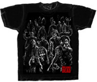 The Walking Dead Walkers Attack Adult T-Shirt