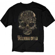 The Walking Dead Skull Of Walkers Adult T-Shirt
