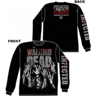 The Walking Dead I'm Infected Long Sleeve Shirt