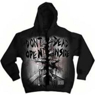 The Walking Dead Dead Inside Adult Zip Hoodie