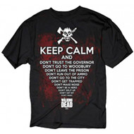 The Walking Dead Keep Calm Adult T-Shirt