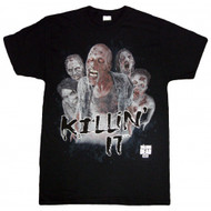 The Walking Dead Killin' It Adult T-Shirt