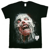 The Walking Dead Jumbo Walker Face Adult T-Shirt