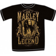 Bob Marley - Rebel Legend Adult T-Shirt