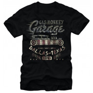 Gas Monkey Garage Flag Filled Adult T-shirt