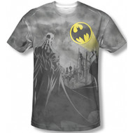 Batman Heed The Call Vintage Feel Sublimation Print T-shirt