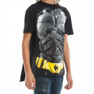 Batman Dark Knight Black Cape Costume T-Shirt