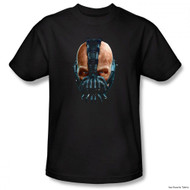 Batman The Dark Knight Rises Adult T-Shirt - Painted Bane