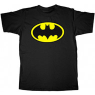 Batman Classic Shield Logo Adult and Youth T-Shirt