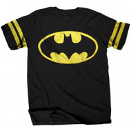Batman Logo Athletic Style Adult T-Shirt