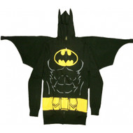 Batman Suit Up Adult Hoodie with Cape