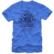 Gas Monkey Garage Aces High Distressed Print Adult T-shirt